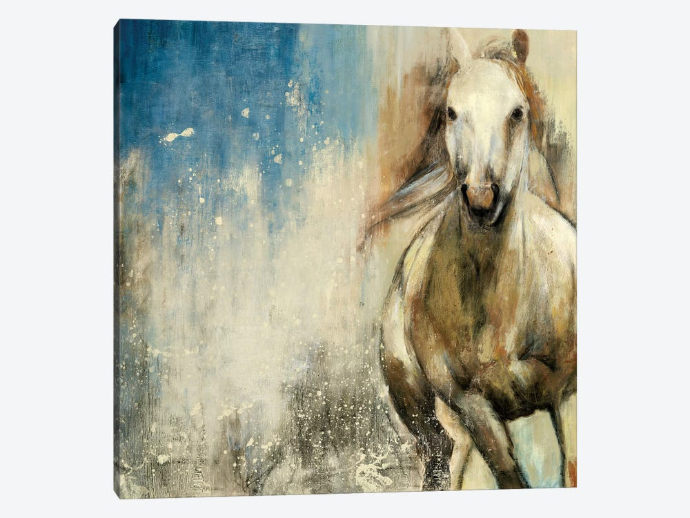 Horses I by PI Studio 1-piece Canvas Wall Art