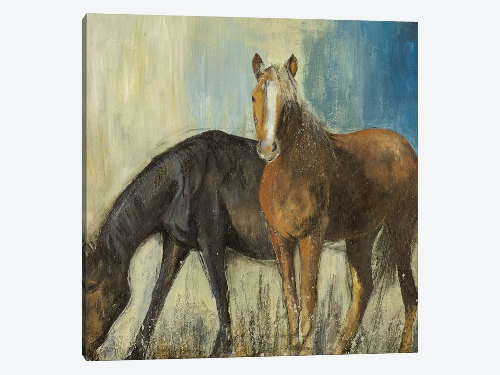 Horses II by PI Studio 1-piece Canvas Art