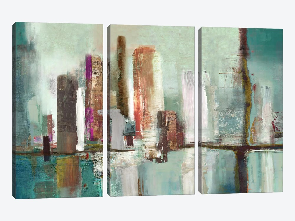Illumination I by PI Studio 3-piece Canvas Art Print