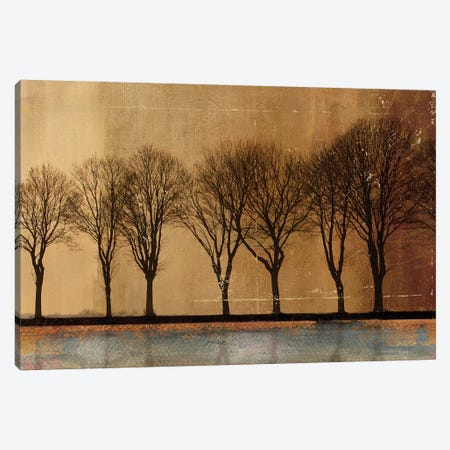In A Row Canvas Print #PST353} by PI Studio Canvas Artwork