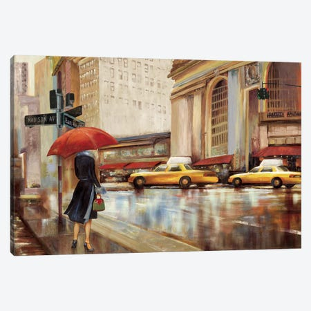 In The City II Canvas Print #PST356} by PI Studio Art Print