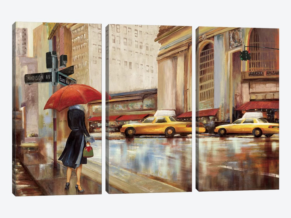 In The City II by PI Studio 3-piece Canvas Art Print