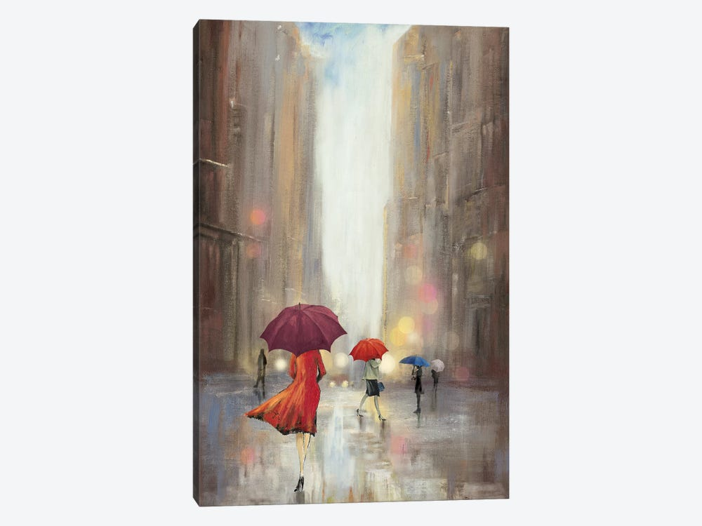 In The Crowd by PI Studio 1-piece Canvas Art