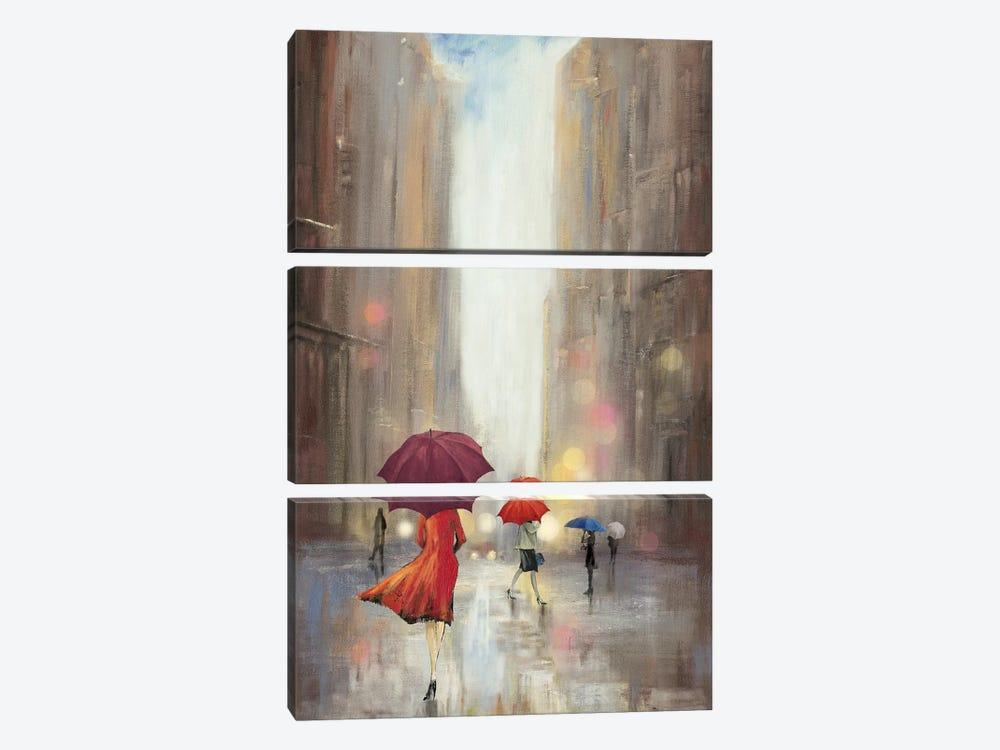 In The Crowd by PI Studio 3-piece Canvas Wall Art