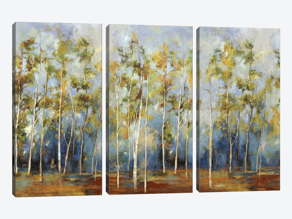 Indigo Forest 3-piece Art Print