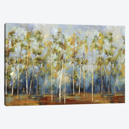 Indigo Forest Canvas Print #PST363} by PI Studio Canvas Art Print