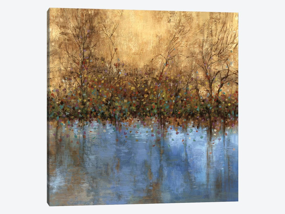 Indigo Landscape by PI Studio 1-piece Canvas Wall Art