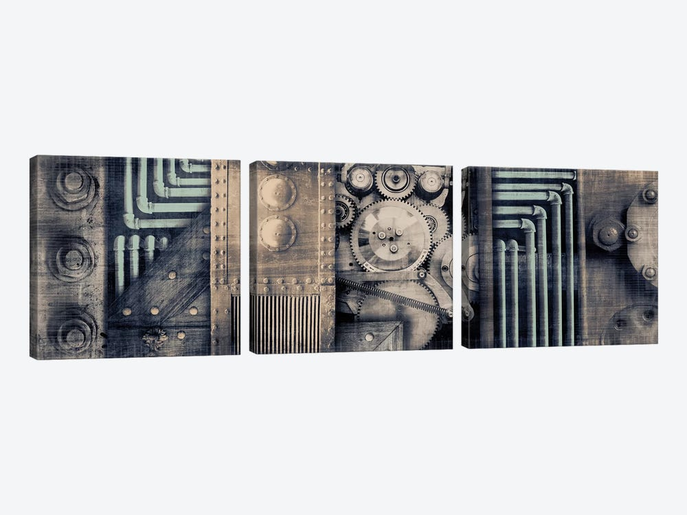 Industrial Strength by PI Studio 3-piece Canvas Artwork