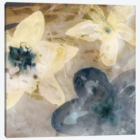 Ink Drip Floral I Canvas Print #PST371} by PI Studio Canvas Art