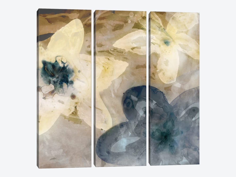 Ink Drip Floral I by PI Studio 3-piece Canvas Artwork