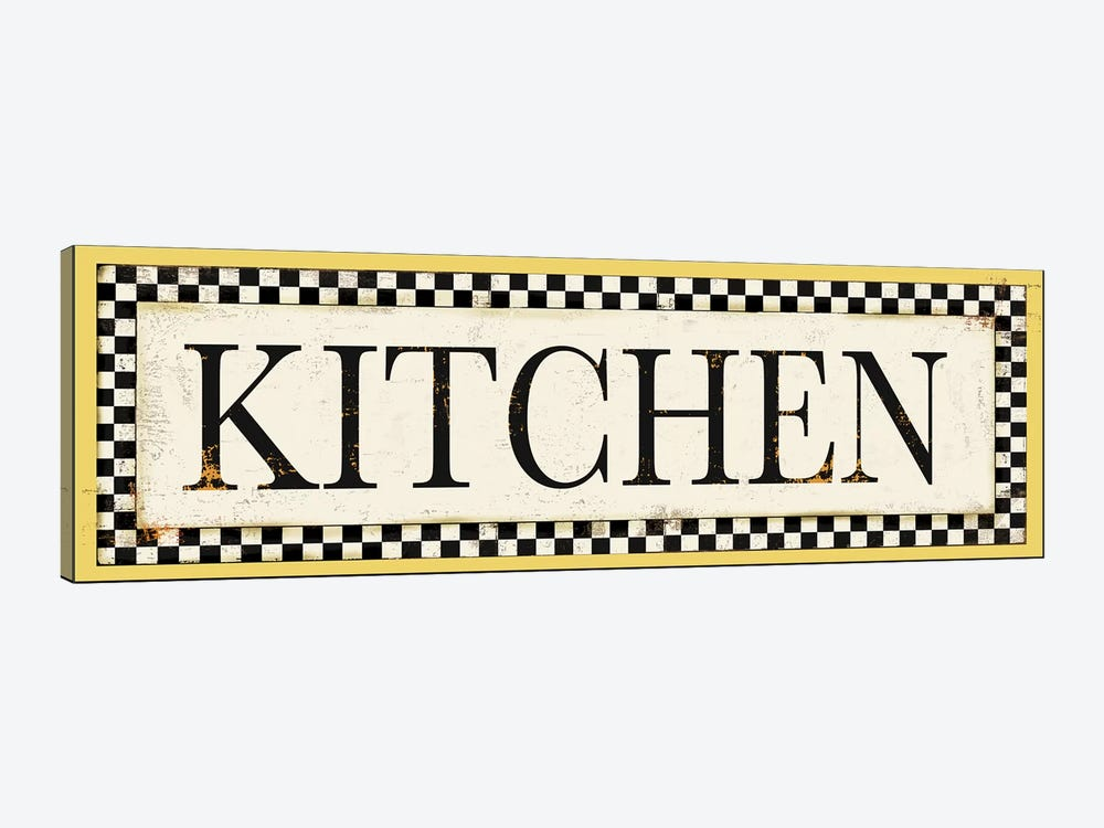 Kitchen by PI Studio 1-piece Canvas Art Print
