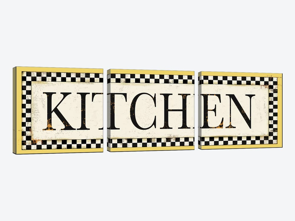 Kitchen by PI Studio 3-piece Art Print