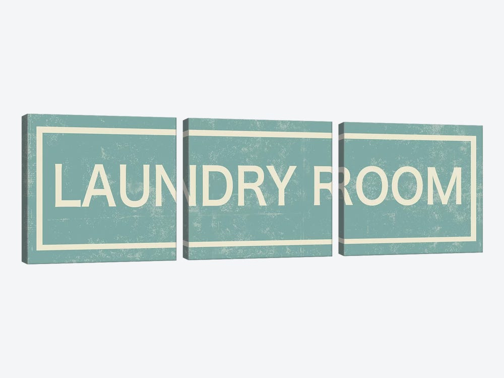 Laundry Room by PI Studio 3-piece Canvas Print
