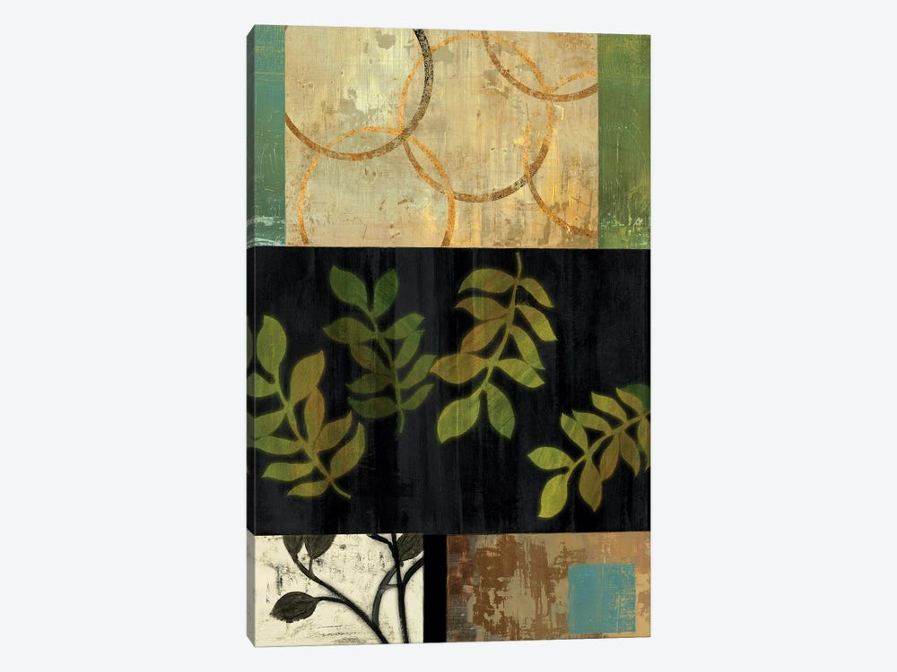 Leaves Of Green I by PI Studio 1-piece Canvas Print