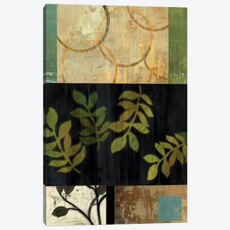 Leaves Of Green I Canvas Print #PST396} by PI Studio Canvas Print