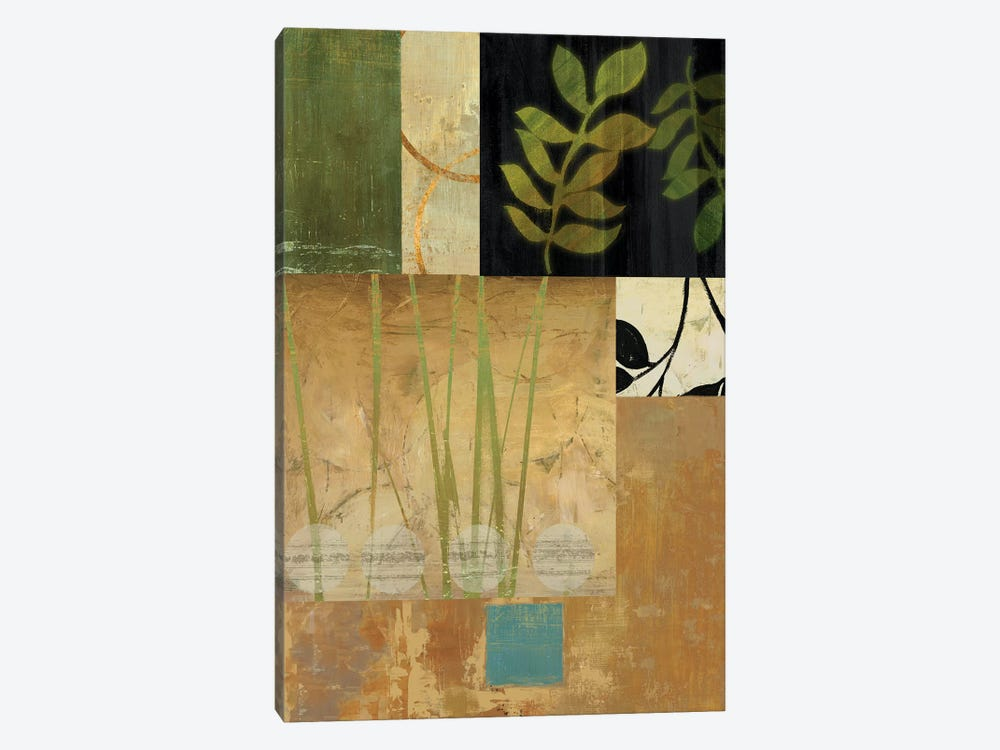 Leaves Of Green II by PI Studio 1-piece Canvas Artwork
