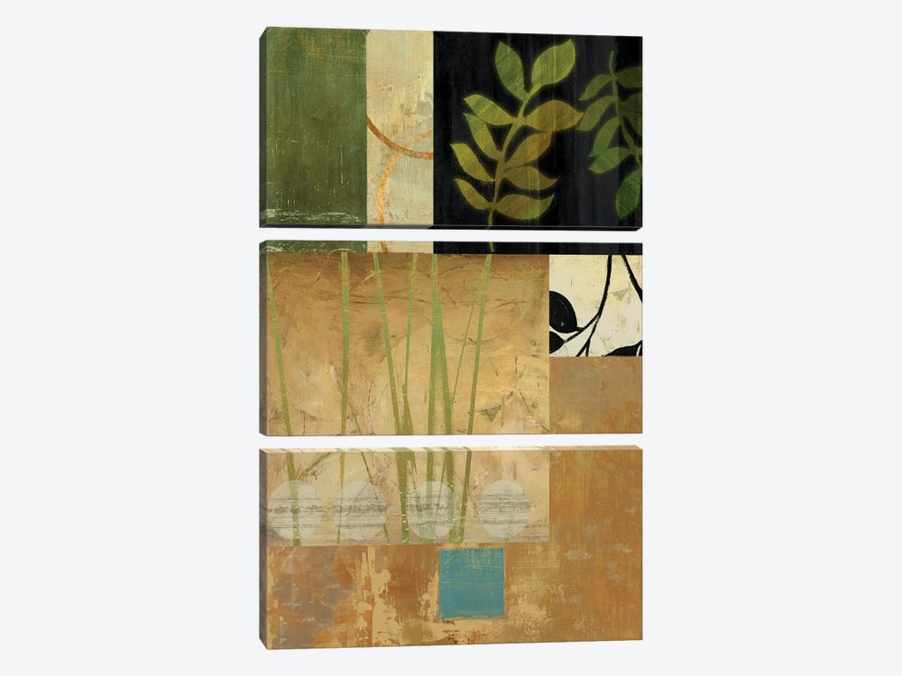 Leaves Of Green II by PI Studio 3-piece Canvas Artwork