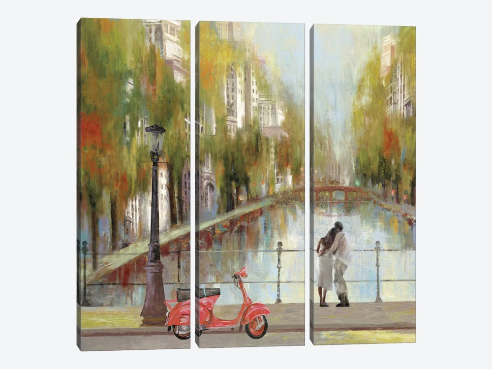 A Stroll To Remember by PI Studio 3-piece Art Print