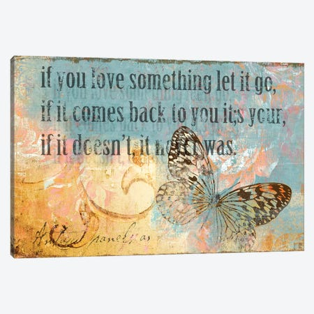 Let It Go Canvas Print #PST400} by PI Studio Canvas Artwork