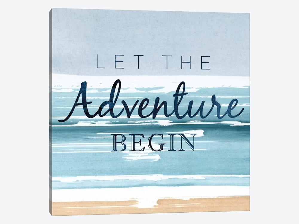 Let The Adventure Begin by PI Studio 1-piece Canvas Wall Art
