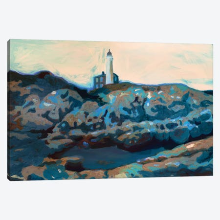 Lighthouse Canvas Print #PST402} by PI Studio Canvas Art