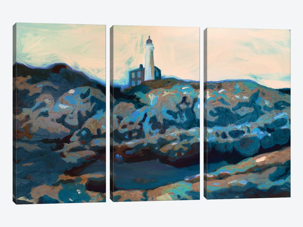 Lighthouse by PI Studio 3-piece Canvas Print