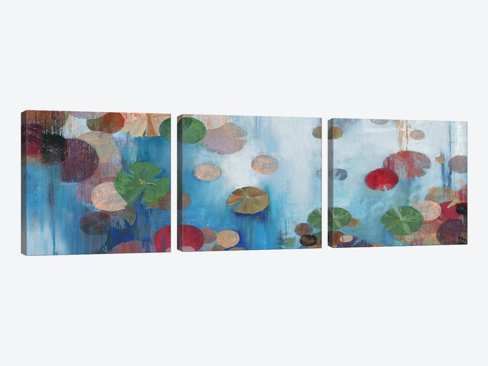 Lillypad by PI Studio 3-piece Canvas Wall Art