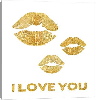 Lip Love I Canvas Art Print