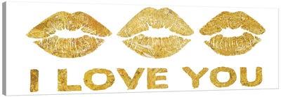 Lip Love II Canvas Art Print