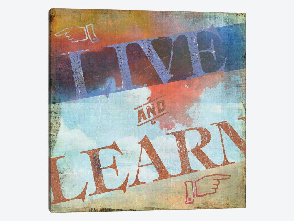 Live And Learn by PI Studio 1-piece Canvas Print