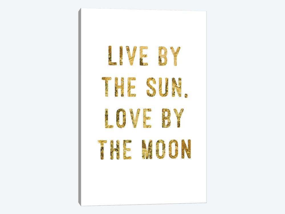 Live By Gold by PI Studio 1-piece Canvas Art