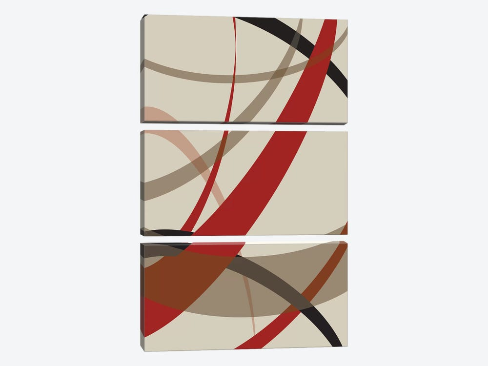 Loose III by PI Studio 3-piece Canvas Art Print
