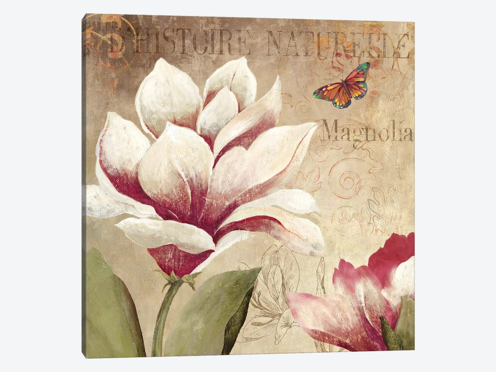 Magnolia by PI Studio 1-piece Canvas Art Print