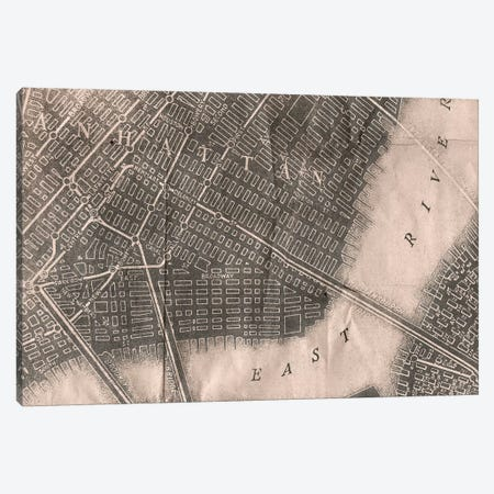 Manhattan Canvas Print #PST442} by PI Studio Canvas Wall Art