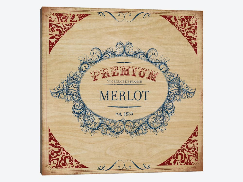 Merlot 1-piece Canvas Art