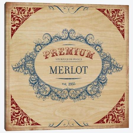 Merlot Canvas Print #PST463} by PI Studio Canvas Artwork