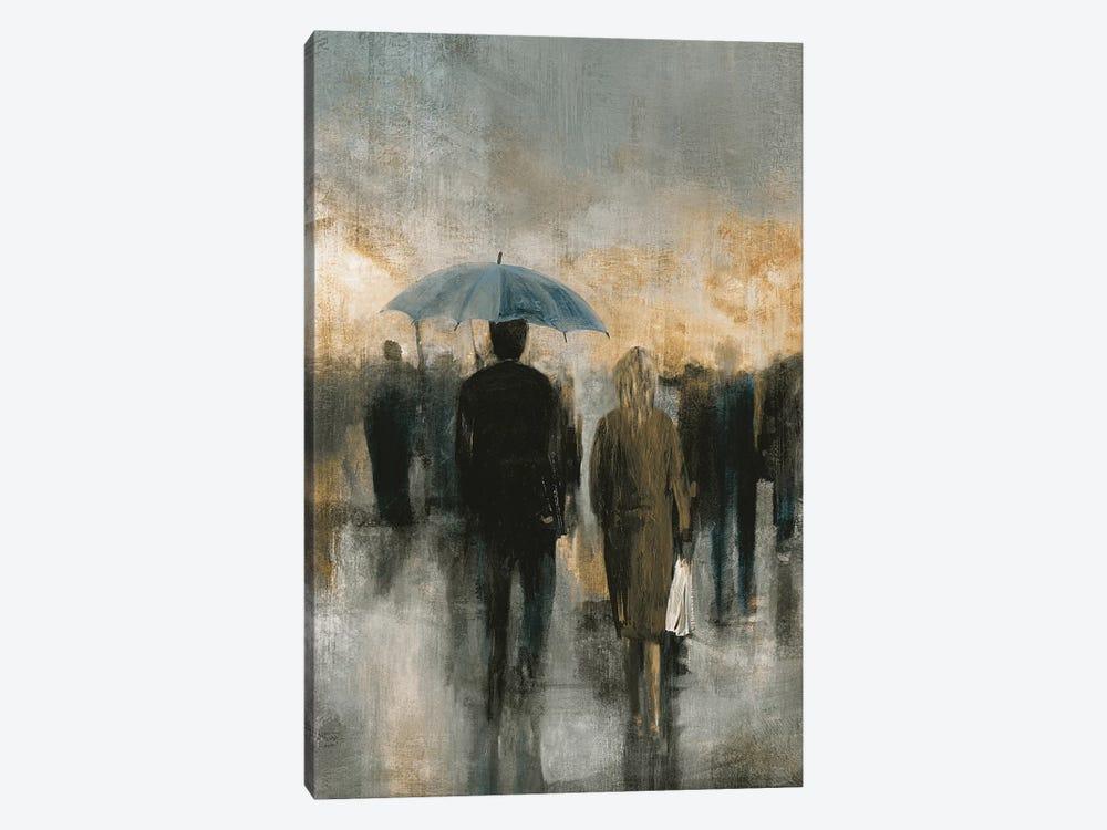 Morning Avenue I 1-piece Canvas Art