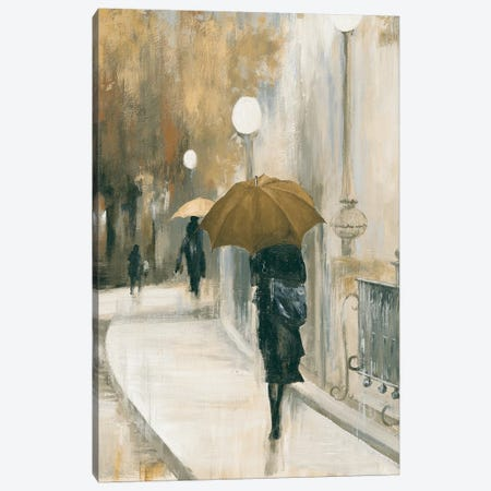 Morning Avenue II Canvas Print #PST479} by PI Studio Canvas Art Print