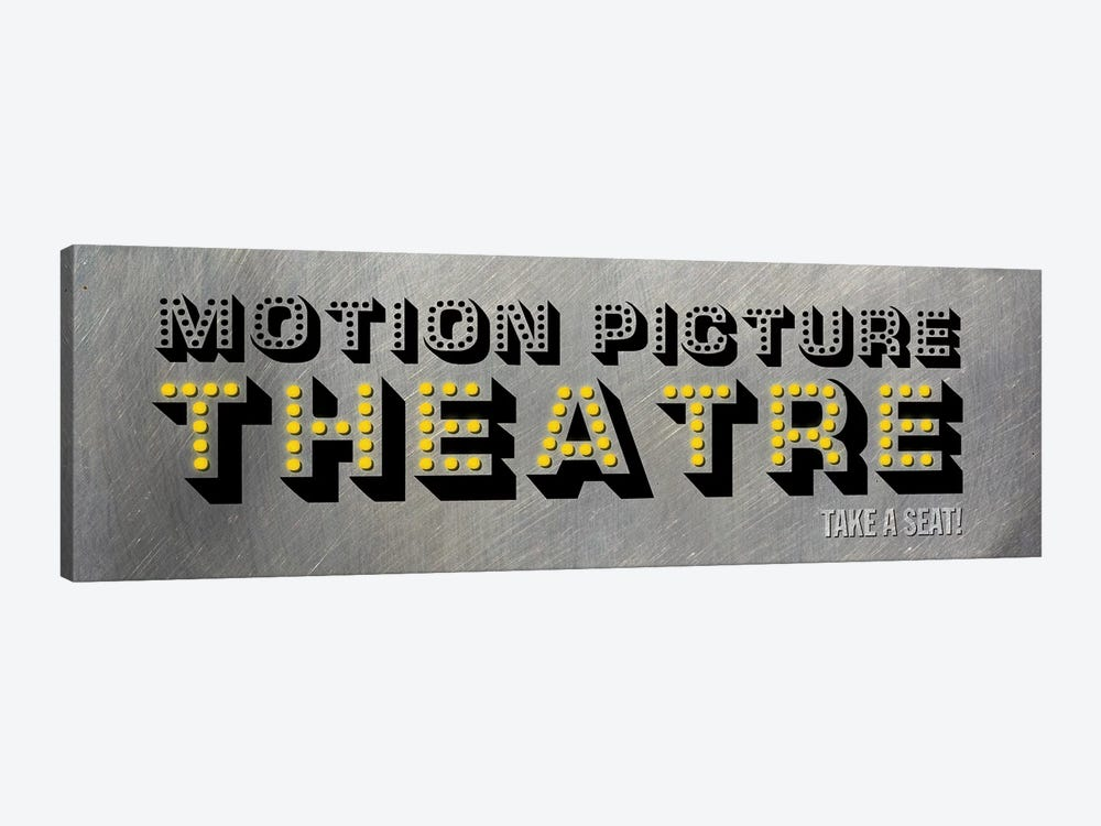 Motion Picture Theatre by PI Studio 1-piece Canvas Wall Art