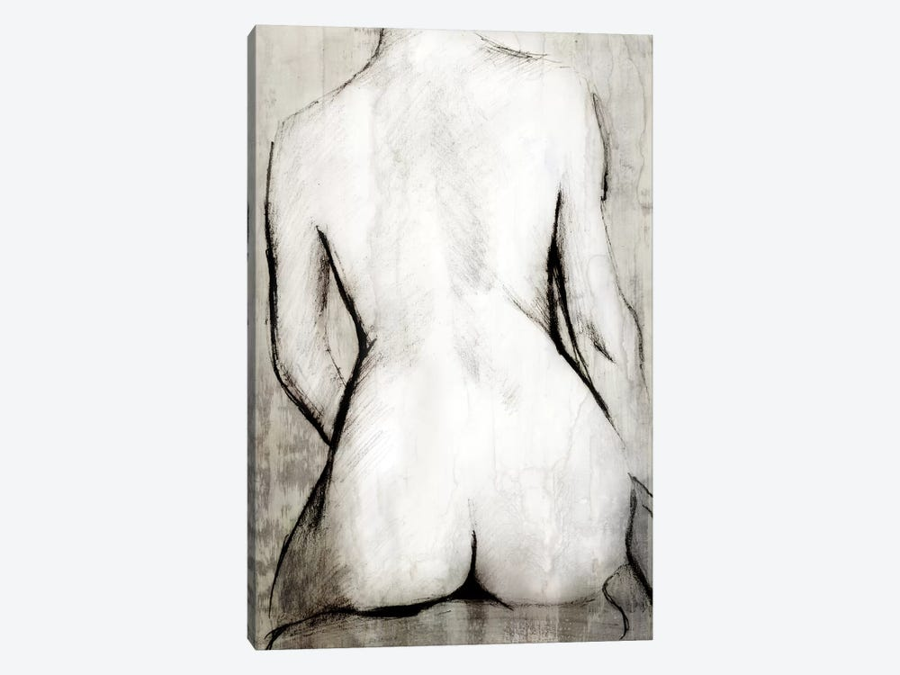 Nude Back 1-piece Canvas Wall Art