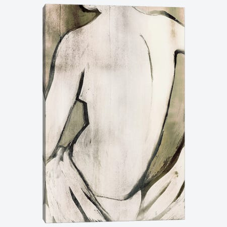 Nude Sepia II Canvas Print #PST506} by PI Studio Canvas Wall Art