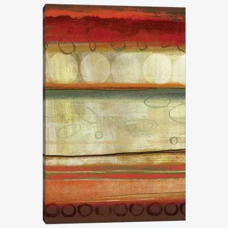 Oasis Circles Canvas Print #PST509} by PI Studio Art Print