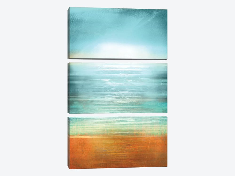 Ocean Abstract by PI Studio 3-piece Canvas Art