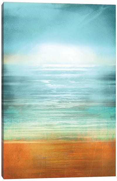 Ocean Abstract Canvas Art Print