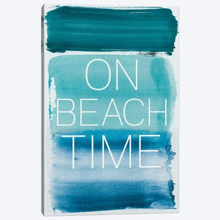 On Beach Time Canvas Print #PST518} by PI Studio Canvas Wall Art