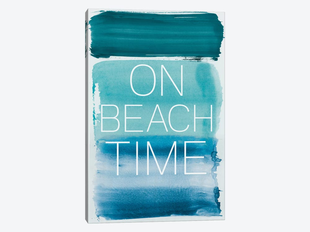 On Beach Time by PI Studio 1-piece Canvas Art Print
