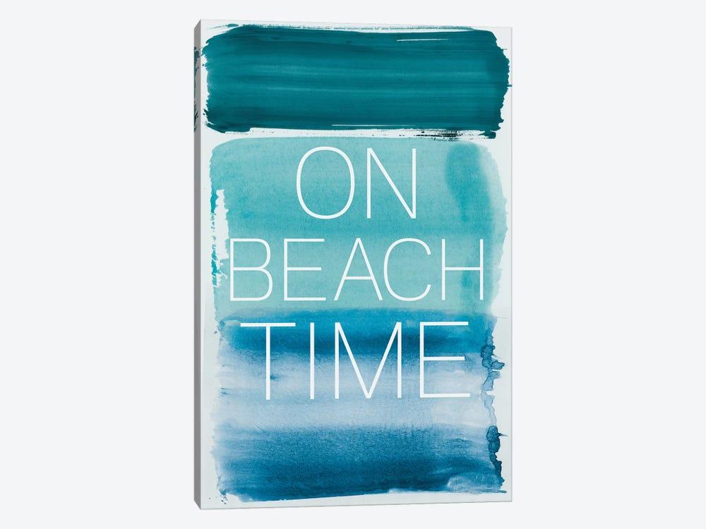 On Beach Time by PI Studio 1-piece Canvas Art Print