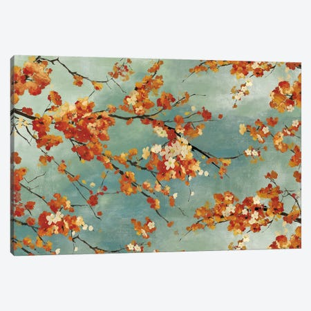 Orange Blossom Canvas Print #PST523} by PI Studio Art Print