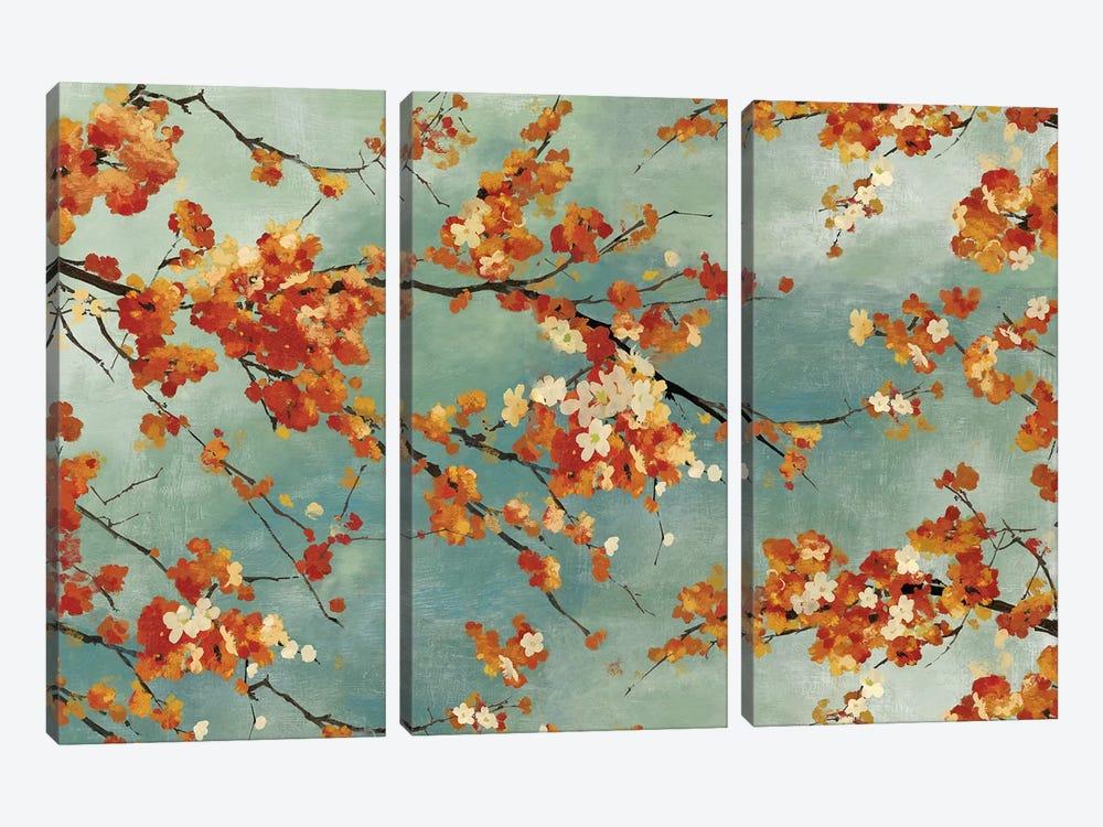 Orange Blossom by PI Studio 3-piece Canvas Print