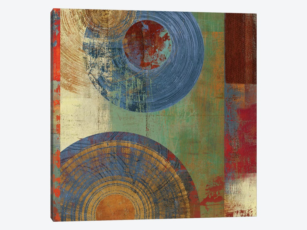 Oribis Blue On Green by PI Studio 1-piece Canvas Print